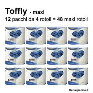 carta igienica toffly 4 rotoli offerta